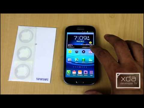 Video of AnyTAG NFC Launcher