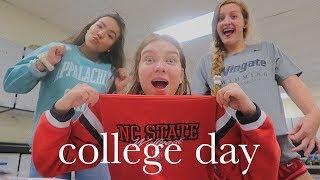 день колледжей в американской школе (неделя влогов) | Polina Sladkova