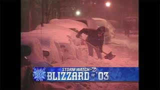 Eyewitness News 50th: The blizzard of 2003