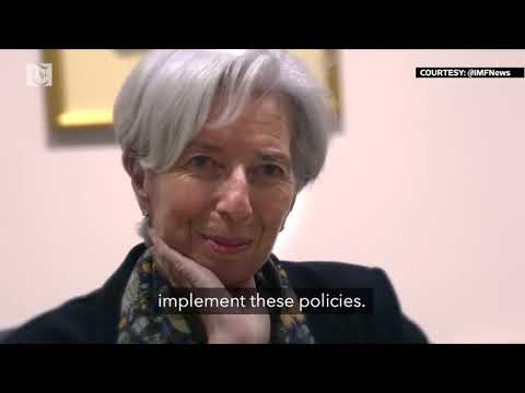 Video: how the IMF brings 'a wallet, a brain and a heart'