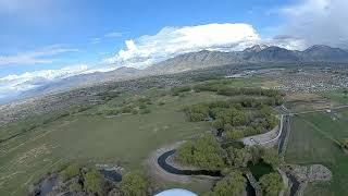 Flying FPV over Trapper Park - Logan/UT