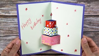 How To Make Happy Birthday Card | Happy Birtday Greeting Card