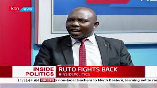 Ruto fights back at Kenei\'s burial,says there\'s a plot to eliminate him   INSIDE POLITICS