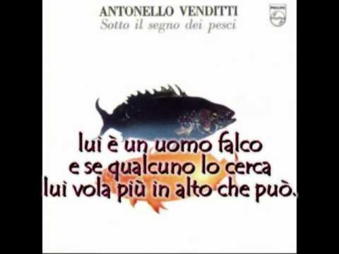 , title : 'Antonello Venditti - L'uomo falco con testo'