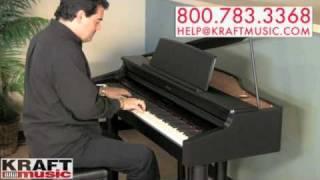 Kraft Music  Roland RG1F Digital Piano Demo With Rick DePiro