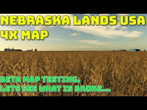 Nebraska Lands USA - 4X american map - Release candidate