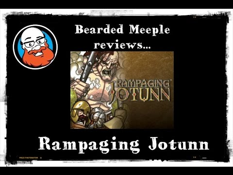 Bearded Meeple reviews Rampaging Jotunn