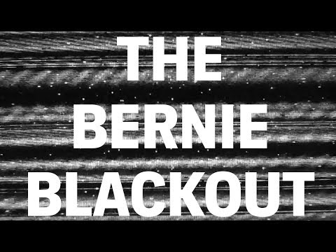 One upside of the Bernie Blackout: Sanders is not facing a frontrunner's backlash