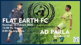 R.F.F.M. - Jornada 25 - Tercera División Nacional (Grupo 7): Flat Earth F.C. 2-0 A.D. Parla.