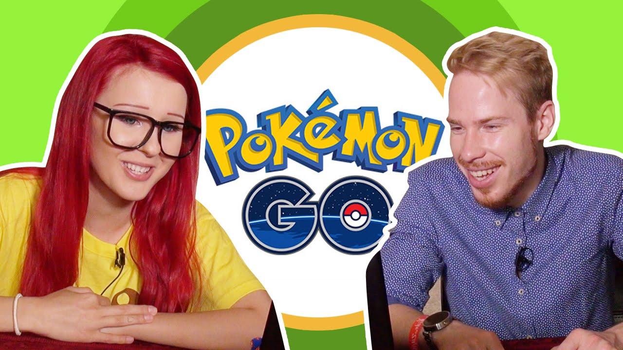 Топовые ютуберы смотрят, как Мир сошёл с ума из-за Pokemon Go