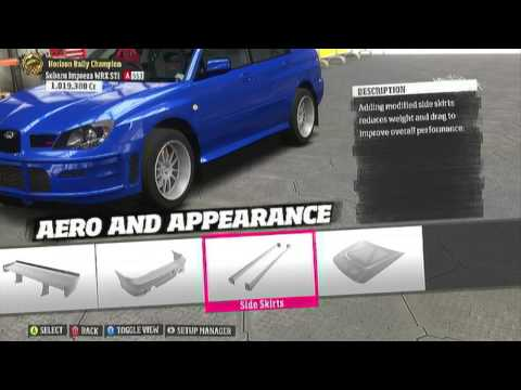 Forza Horizon | Full Build 2005 Subaru WRX Sti Rally Car | Rally Expansion Pack Gameplay