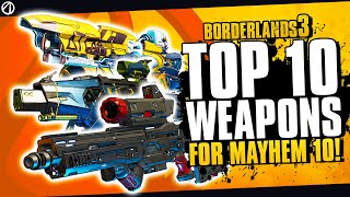 Borderlands 3 - Best Weapons You Need To Get Before The New Update | BL3 Best Weapons for Mayhem 10