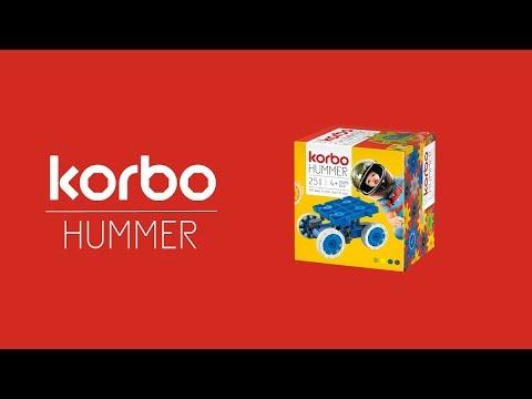 Конструктор Korbo Hummer 25 эл