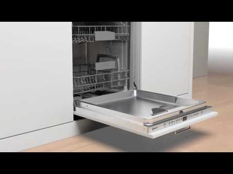 Neff lave-vaisselle avec porte à glissières