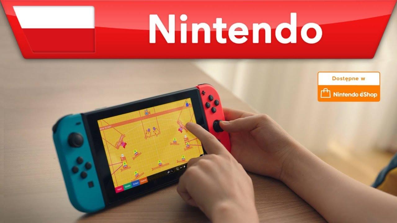 Game Builder Garage – moja własna gra   Nintendo Switch