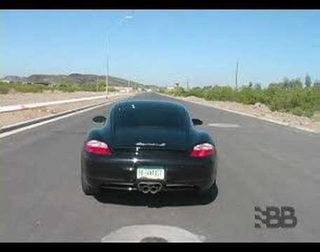 Porsche Cayman S 05-08 Drive Off – Billy Boat Exhaust