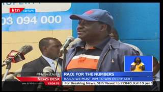 Leaders mobilize kenyans to go out to register as day two registers low turn out