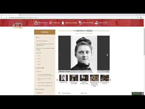 Le site web du sanctuaire de Lisieux