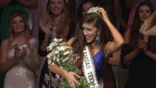 Malerie Moore Miss Kansas Teen USA 2017 Crowning