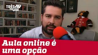 Paulo Figueiredo: Pessoal na universidade federal não é muito amigo de trabalho