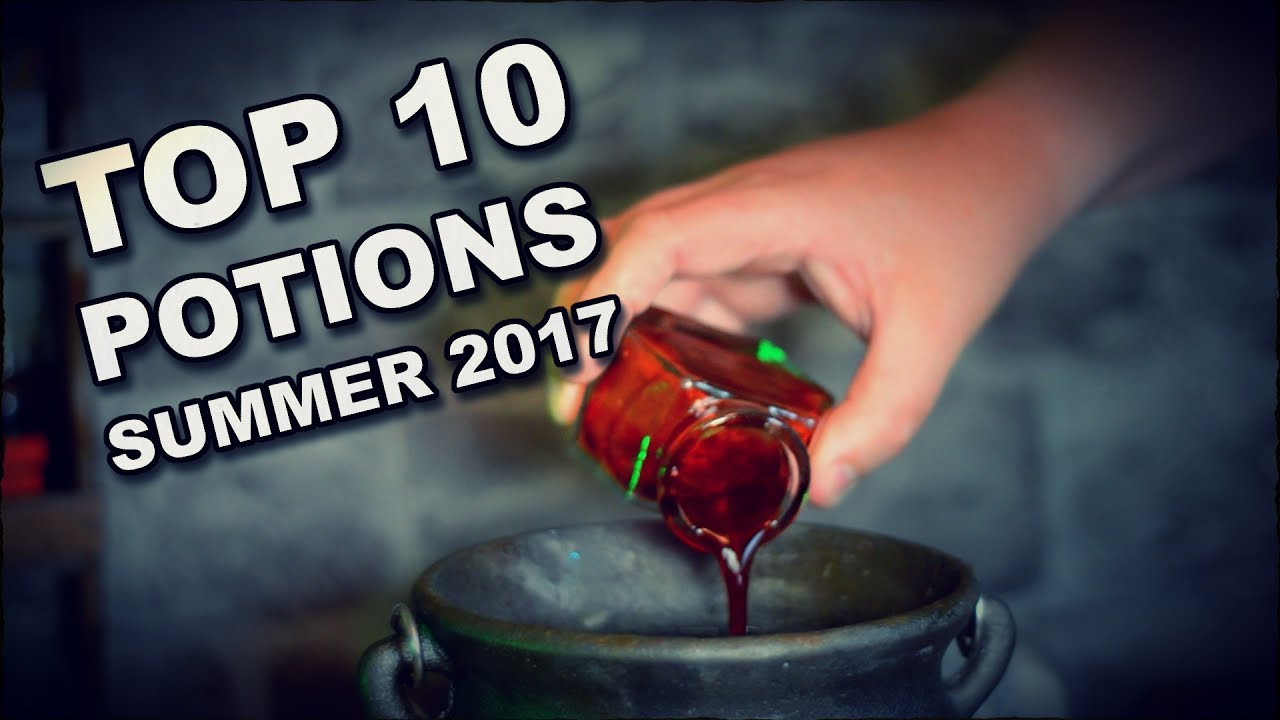 Higgypop Potions Top 10 Recipes Summer 2017