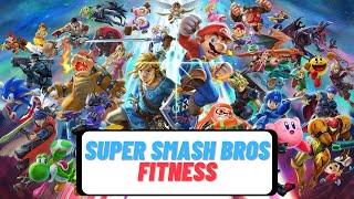 Super Smash Bros Fitness (Online PE Activity)