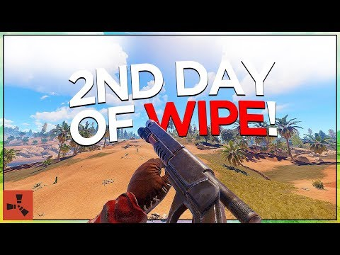 2nd Day of WIPE! (SOLO VANILLA RUST #2 S42)