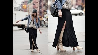 Maxi Dresses style for winter