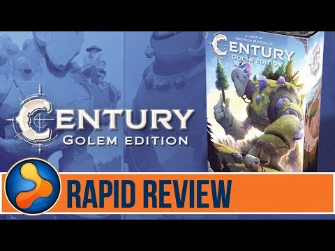 Century: Golem Edition Rapid Review - GamerNode Tabletop