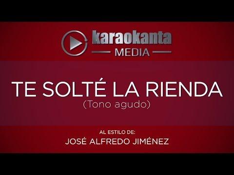 Te solte la rienda Jose Alfredo Jimenez