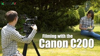 Shooting with the Canon C200 - Behind the Scenes