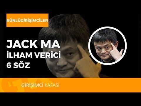 Alibaba kurucusu Jack Ma'nın 6 Etkileyici Sözü