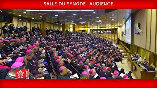 Pape François - Audience 2019-04-11