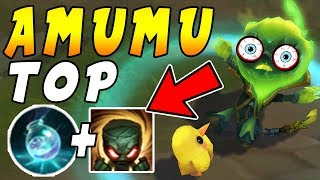 Amumu Top  Infinite Mana Setup = Win All Duels In Enemy Minion Waves