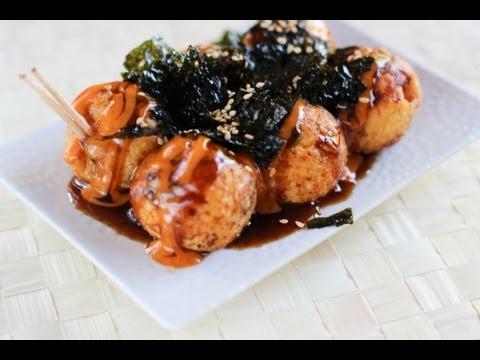 Kimchi Takoyaki Recipe – Japanese Cooking 101