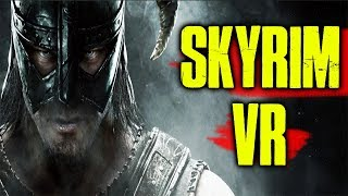 SKYRIM VR REVIEW - USING HTC VIVE PRO AND VIRTUIX OMNI - Video Youtube