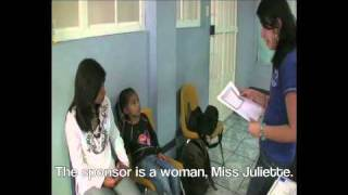 Children in Guatemala are notified that they've been sponsored