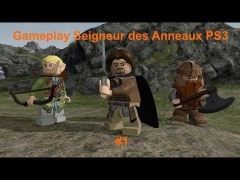 Vidéo LEGO Jeux vidéo PS3LSDA : Lego Le Seigneur des Anneaux PS3