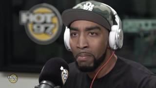 Mysonne Freestyles on Flex Hot 97 Video