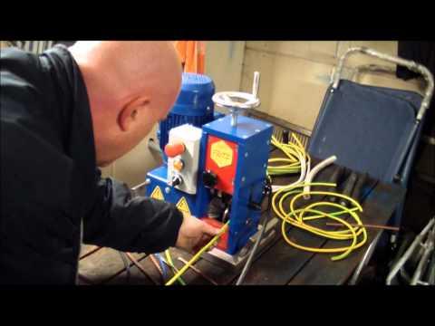 Kabelschälmaschine, Kabelabisoliermaschine,Kabel schälen,Kabel abisolieren,Der Fritz