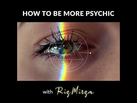 Become More Psychic ! online Psychic School with Master Trance Channel Medium RIZ