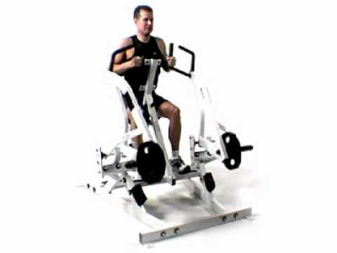 Hammer Strength - Seated Row | Exercise.com
