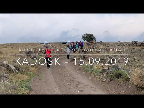 Kadosk Kitreli Bölgeye yapılan ilk kulüpsel doğa yürüyüşü