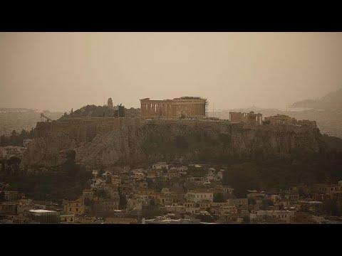 Η αφρικανική σκόνη «έπνιξε» Ελλάδα και Κύπρο