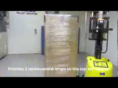 Small Mobile Pallet Wrapping Machine | Little Robbie