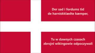 Hymn Danii narodowy (DK/PL tekst) - Anthem of Denmark