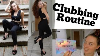 Clubbing Routine - Outfit, Hair, Make up etc :)