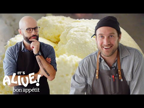 Brad and Babish Make Ricotta Cheese | It's Alive | Bon Appetit