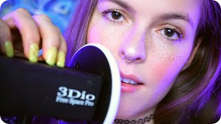 ASMR Slow Breathing w/ Deep Brain Scratching and Rain for Anxiety Relief and Relaxation 🧘