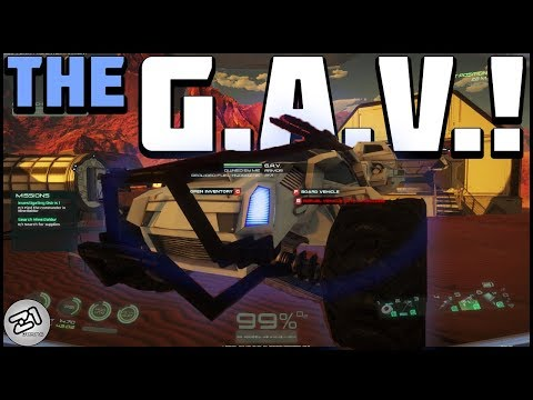 Building the GAV ! Mine BALDUR ! Lets Play Osiris New Dawn Beta Gameplay Z1 Gaming